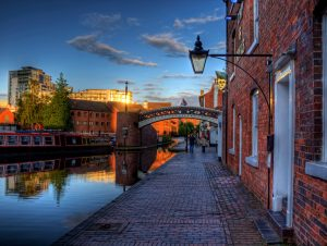 Birmingham canal view